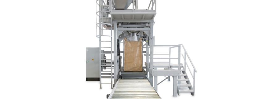 semiautomatische Big Bag Füllstation für 150 BB / h